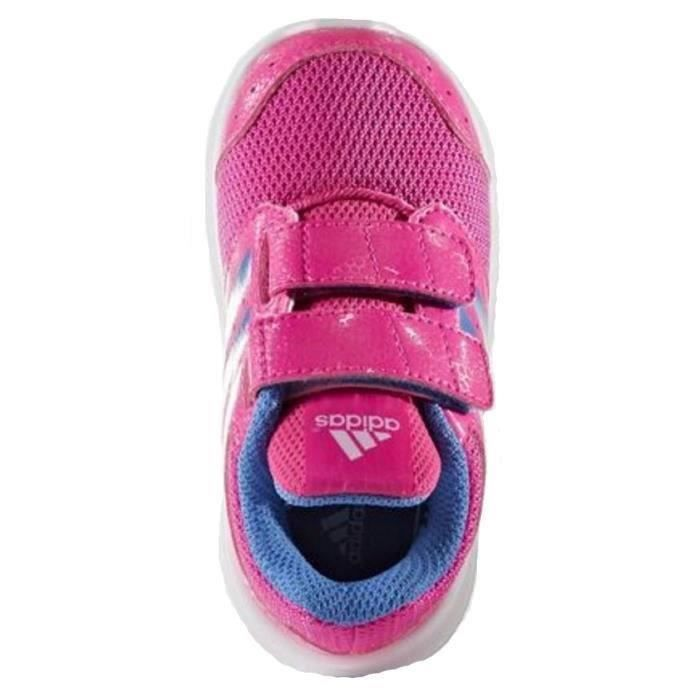adidas neo baskets lk sport chaussures b b fille rose et bleu achat vente basket les. Black Bedroom Furniture Sets. Home Design Ideas