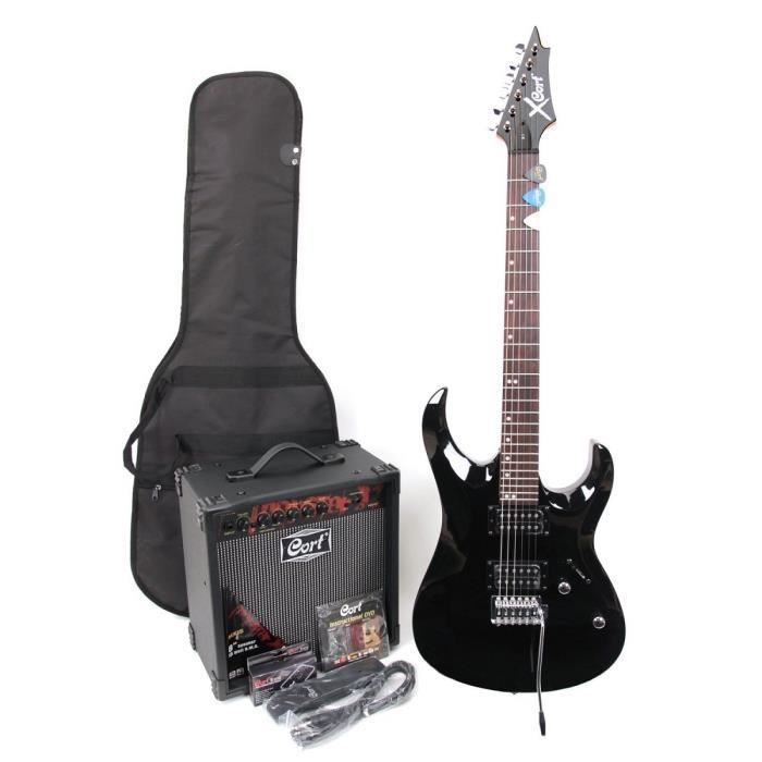 cort x 1 pack guitare electrique accessoires pas cher. Black Bedroom Furniture Sets. Home Design Ideas