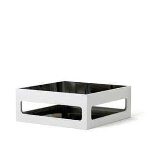TABLE BASSE ANGEL Table basse carrée style contemporain laquée