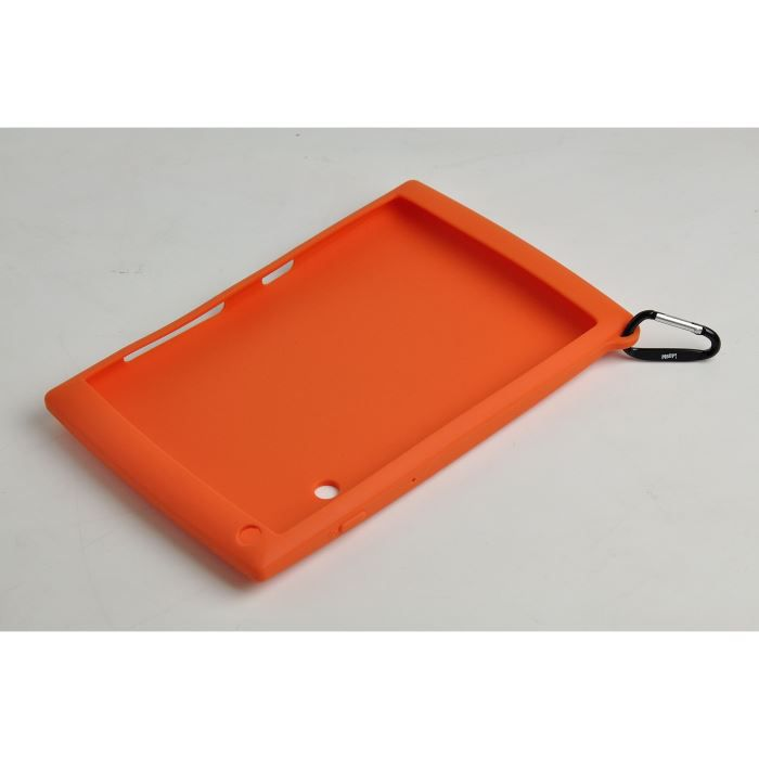 pochette silicone orange protection meep achat vente. Black Bedroom Furniture Sets. Home Design Ideas