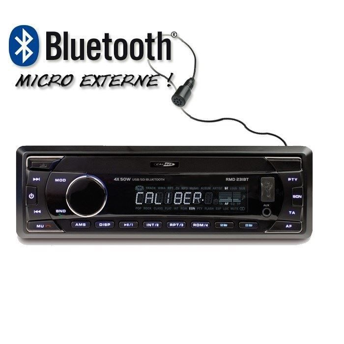 caliber rmd231bt autoradio usb sd bluetooth achat