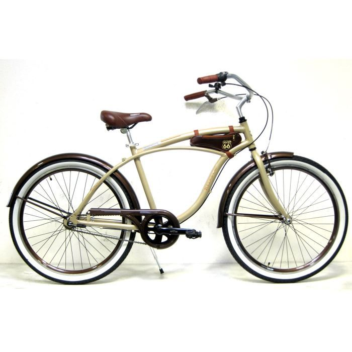 route 66 beach cruiser mixte illinois prix pas cher cdiscount. Black Bedroom Furniture Sets. Home Design Ideas