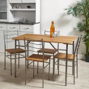 TABLE DE CUISINE MIRABEL Ensemble Table Et Chaises De 4 A 6 Personn
