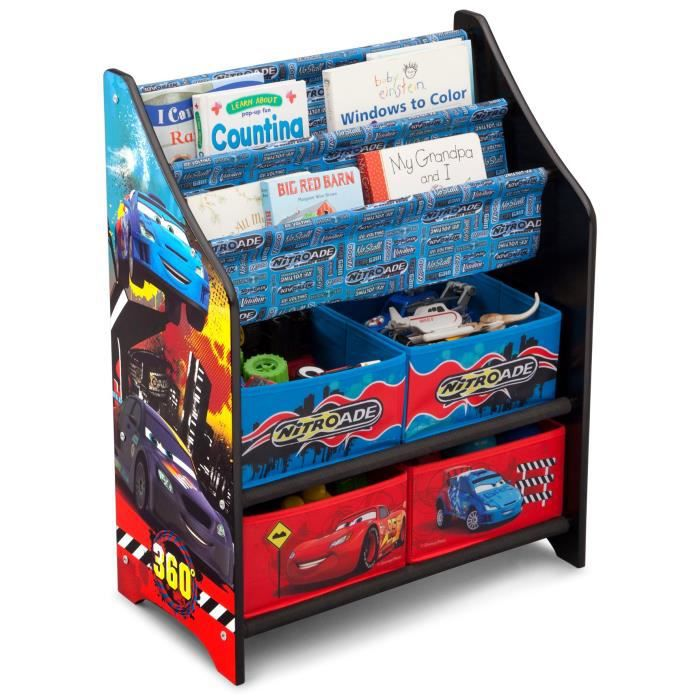 cars meuble enfant de rangement jouets livres en bois. Black Bedroom Furniture Sets. Home Design Ideas