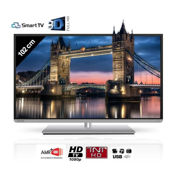 toshiba 40l5441dg smart tv 3d 102 cm t l viseur led avis et prix pas cher cdiscount. Black Bedroom Furniture Sets. Home Design Ideas