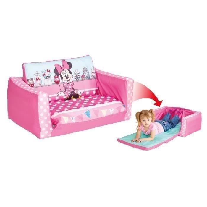 worlds apart minnie mouse canap enfant gonflable et. Black Bedroom Furniture Sets. Home Design Ideas
