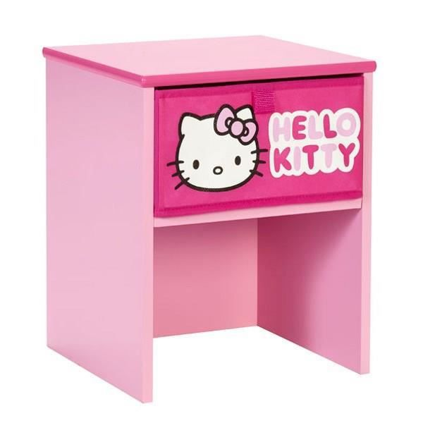hello kitty table enfant de chevet avec tiroir achat vente chevet hello kitty table de. Black Bedroom Furniture Sets. Home Design Ideas