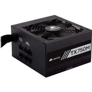 ALIMENTATION INTERNE CORSAIR Alimentation TX750M - 750 Watts - Semi Mod