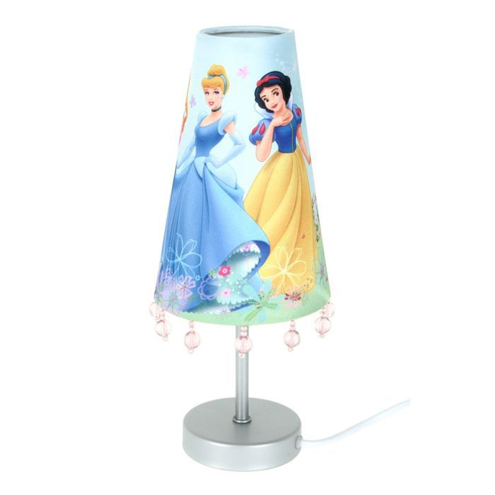 lampe de chevet disney princess achat vente lampe. Black Bedroom Furniture Sets. Home Design Ideas