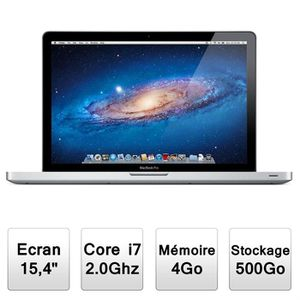 ORDINATEUR PORTABLE Apple MacBook Pro (MC721/A)