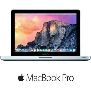 "Vente PC Portable Apple MacBook Pro - MD101F/A - 13"" - 4Go de RAM - pas cher"