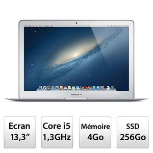 "Achat PC Portable Apple MacBook Air 13"" (MD761F/A) pas cher"