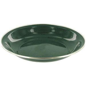 OUTILLAGE DE CAMPING HIGHLANDER Assiette à Soupe Email Deluxe Vert