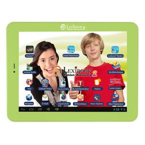"TABLETTE ENFANT LEXIBOOK Tablette Tactile Enfant 8"" Android MFC181"