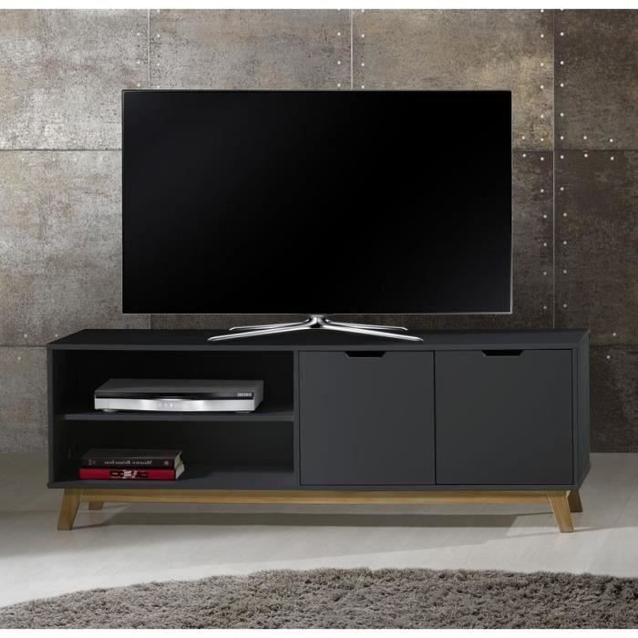 meuble pour tv 140 cm meuble tv erly largeur 140 cm d f i meuble tv design 140 cm blanc rm. Black Bedroom Furniture Sets. Home Design Ideas