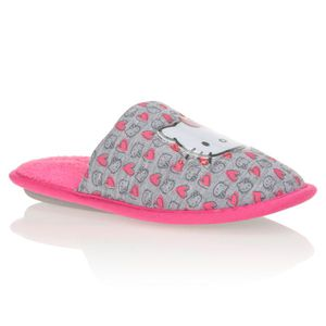 CHAUSSON - PANTOUFLE HELLO KITTY Chaussons Mules Enfant Fille