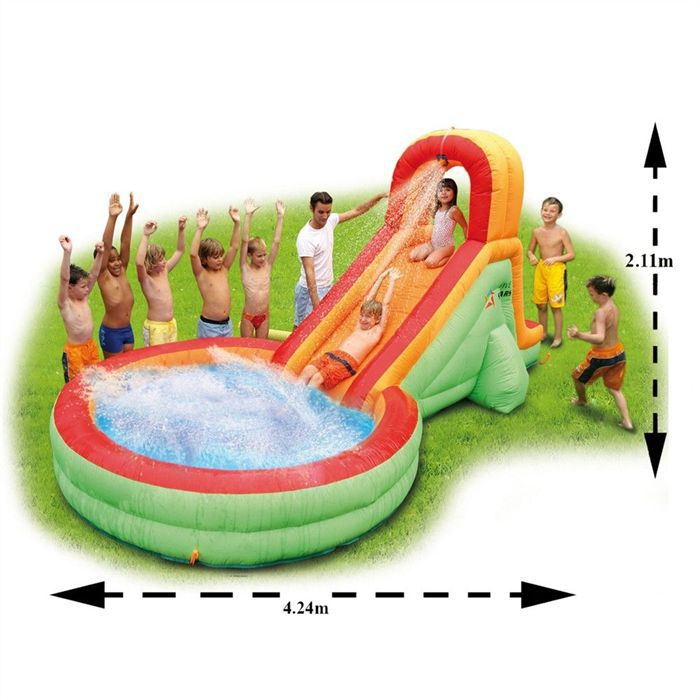 Slide 39 n splash toboggan et piscine achat vente slide for Piscine avec toboggan paris
