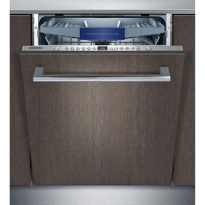 LAVE-VAISSELLE SIEMENS SN636X01KE - Lave vaisselle encastrable -