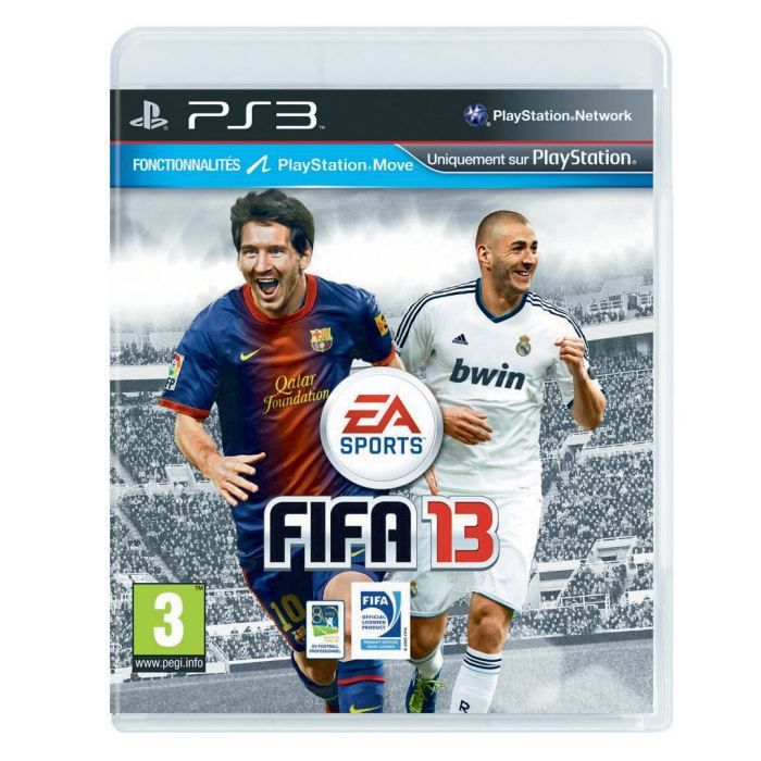 fifa 13 jeu console ps3 achat vente jeu ps3 fifa 13. Black Bedroom Furniture Sets. Home Design Ideas