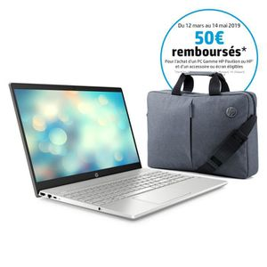 ORDINATEUR PORTABLE HP PC Ultrabook Pavilion 15-cs0011nf - 15,6