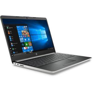 "Vente PC Portable HP PC Portable 14-cf0051nf - 14""HD - Pentium 4417U - RAM 8Go - Stockage 256Go SSD - Windows 10 pas cher"