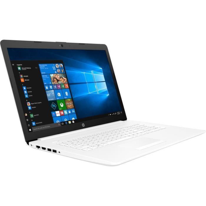 "ORDINATEUR PORTABLE HP PC Portable - 17,3""HD+ - Core i3-7020U - RAM 4G"