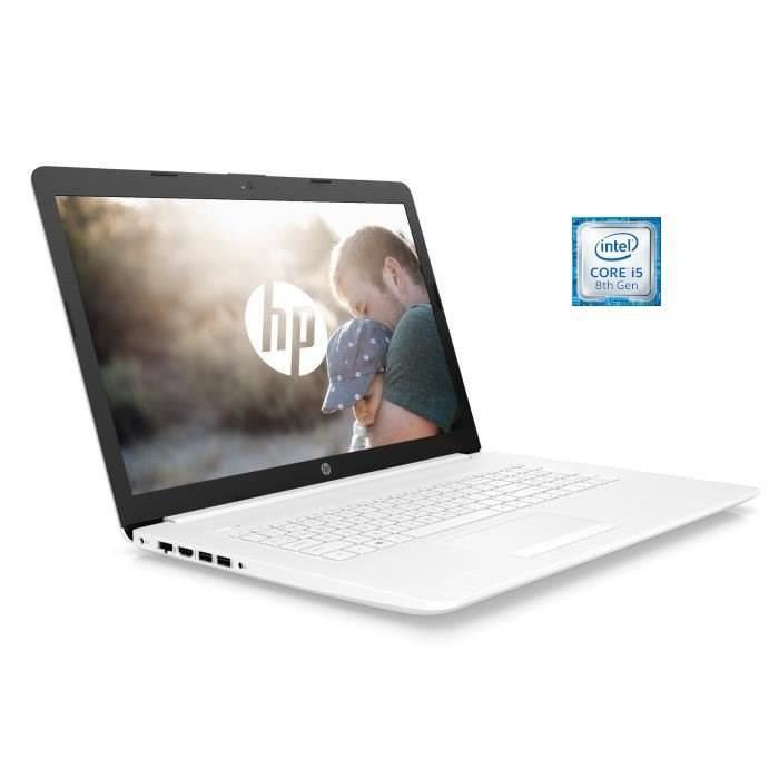 """ORDINATEUR PORTABLE HP PC Portable 17-by1001nf - 17.3""""HD - Processeur"""