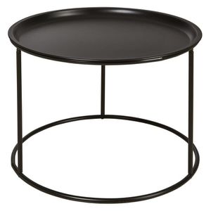 TABLE BASSE SERGIO Table basse rondes style contemporain métal