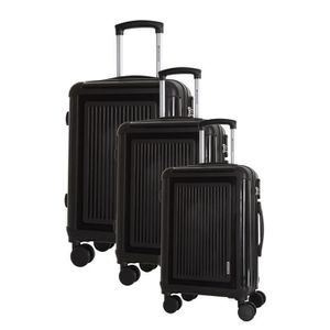 SET DE VALISES PLATINIUM Set de 3 Valises Rigide Polypropylène 4