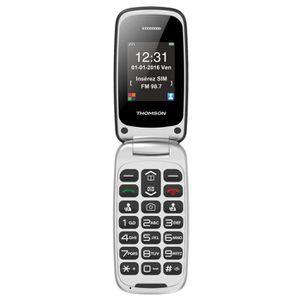 Téléphone portable Thomson Serea 61 Noir - Téléphone Senior