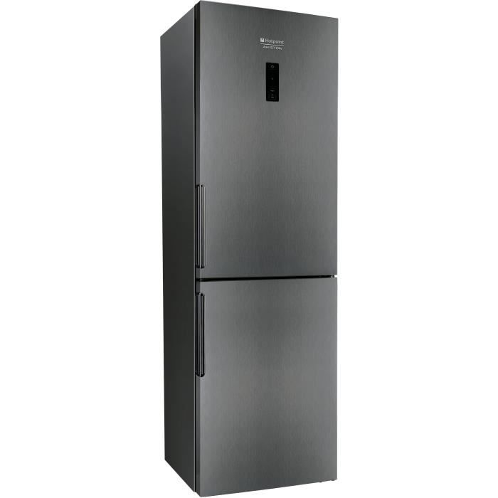 hotpoint xh8t1dg r frig rateur cong lateur bas 340l 235. Black Bedroom Furniture Sets. Home Design Ideas