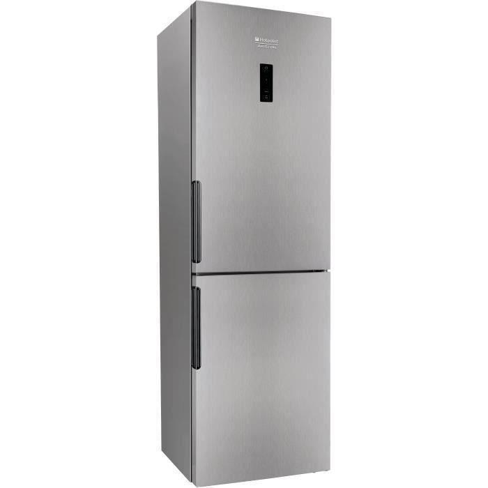 RÉFRIGÉRATEUR CLASSIQUE HOTPOINT XH8 T1OX-NEW - Réfrigérateur congélateur