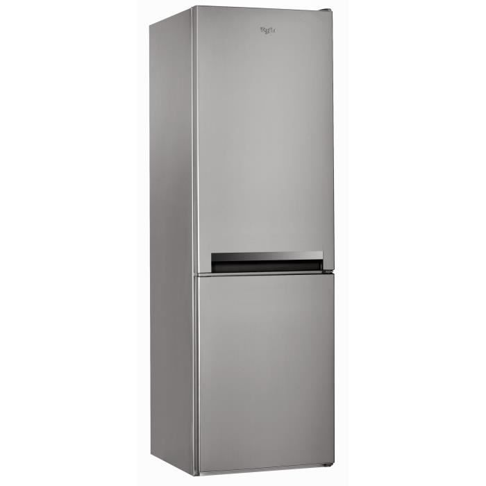 RÉFRIGÉRATEUR CLASSIQUE WHIRLPOOL BLF8001OX -Réfrigérateur congélateur bas