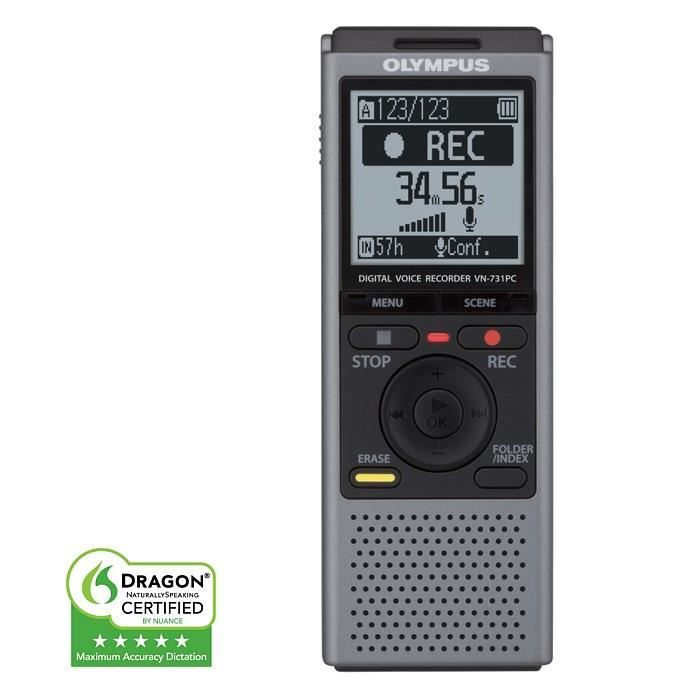 olympus vn731pc dictaphone achat vente dictaphone. Black Bedroom Furniture Sets. Home Design Ideas