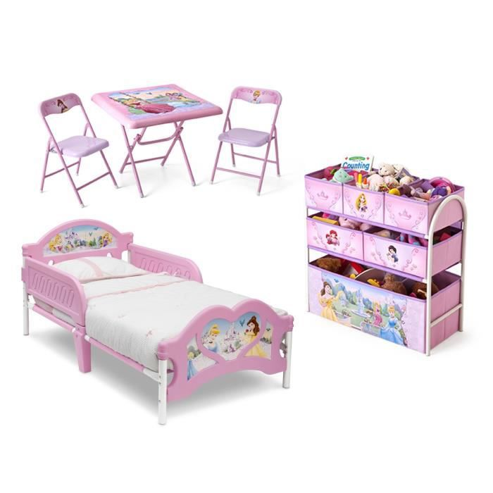 disney princesses chambre enfant compl te tout en un achat vente chambre compl te cdiscount. Black Bedroom Furniture Sets. Home Design Ideas