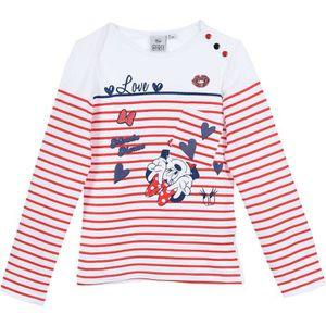 T-SHIRT MINNIE T-shirt manches longues Fille 95% Coton 5%