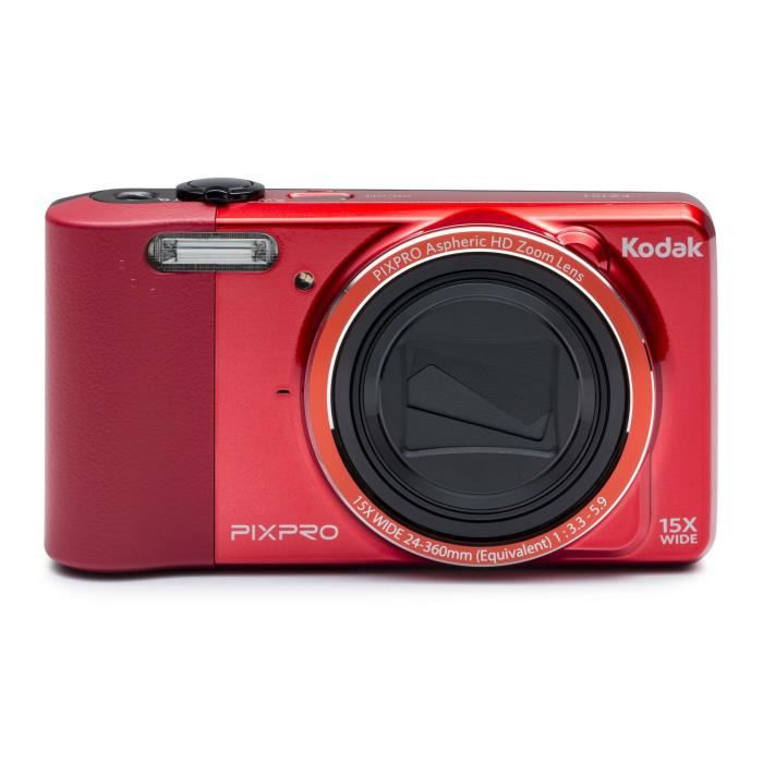 kodak fz151 rd appareil photo compact rouge achat. Black Bedroom Furniture Sets. Home Design Ideas