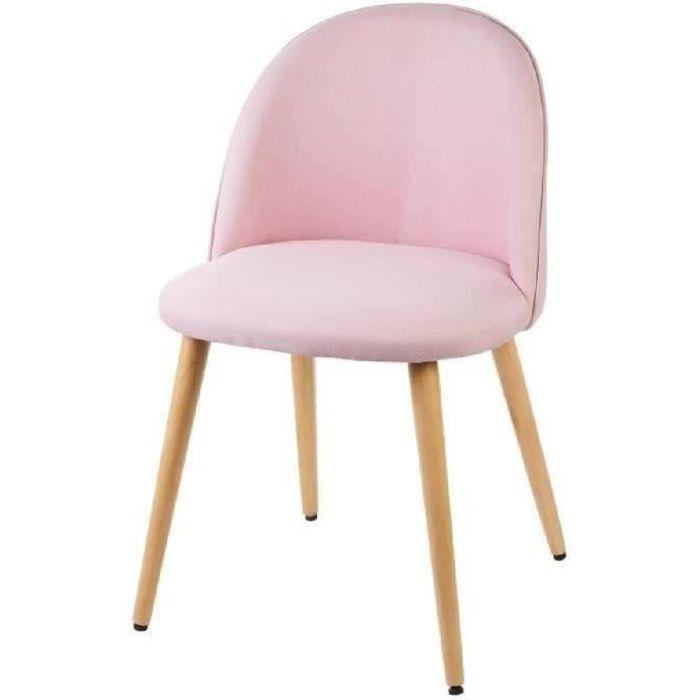 58 x 34 x 30 cm PEGANE Lot de 4 chaises pour enfant en
