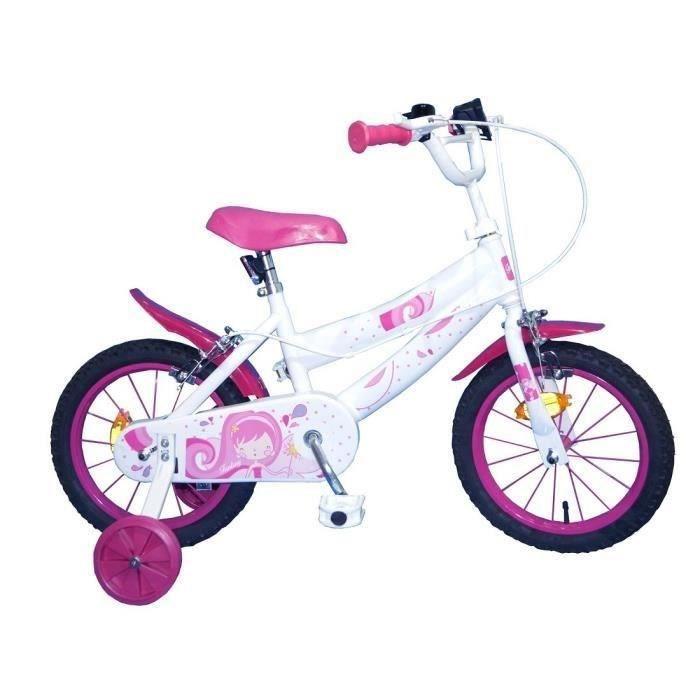 Filles Rose Vélo Daisy Bell de sécurité enfant Cornes vélo accessoire jouet