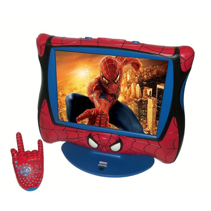 spiderman tv lcd 15 lexibook achat vente t l viseur. Black Bedroom Furniture Sets. Home Design Ideas