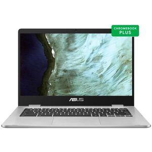 Top achat PC Portable ASUS Ordinateur portable Chromebook C423NA-BV0051 - 14 pouces HD - Celeron N3350 - RAM 4 Go - Stockage 64 Go - Chrome pas cher