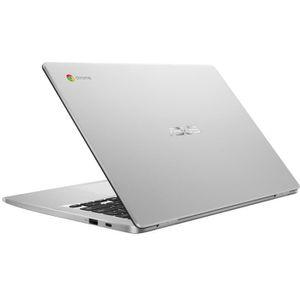 Un achat top PC Portable  ASUS Ordinateur portable Chromebook C423NA-BV0051 - 14 pouces HD - Celeron N3350 - RAM 4 Go - Stockage 64 Go - Chrome pas cher