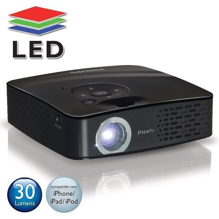 philips ppx1230 pico projecteur led vid oprojecteur. Black Bedroom Furniture Sets. Home Design Ideas