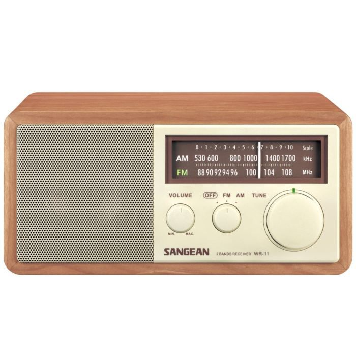 sangean wr 11 wa radio analogique haut de gamme radio cd. Black Bedroom Furniture Sets. Home Design Ideas