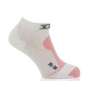 CHAUSSETTES MULTISPORT X-BIONIC Chaussettes de Golf Low Cut Femme Blanc e