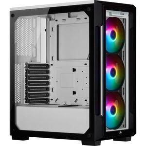BOITIER PC  CORSAIR Boitier PC iCUE 220T RGB - Moyen-Tour - Ve