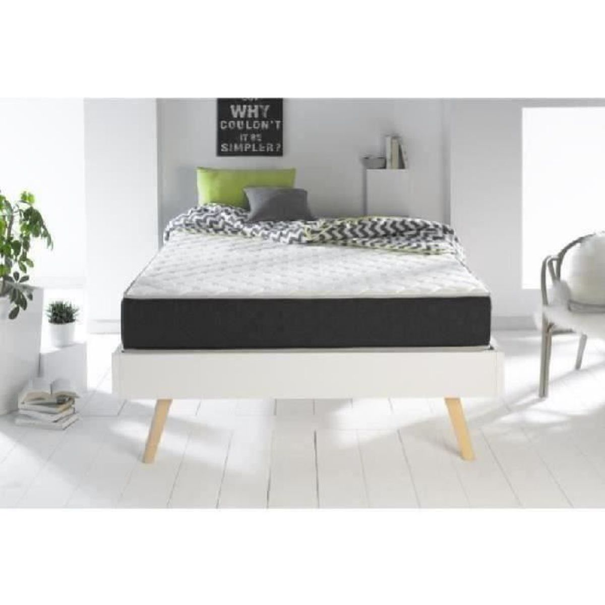 dormipur v810 matelas m moire de forme gel 5900246347585 achat vente matelas cdiscount. Black Bedroom Furniture Sets. Home Design Ideas