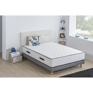 ENSEMBLE LITERIE DEKO DREAM Ensemble matelas + sommier 160 x 200 -