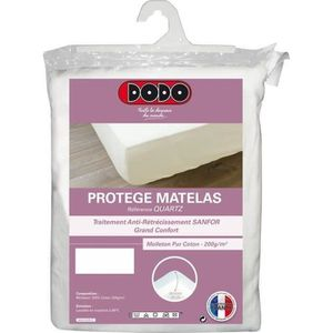 PROTÈGE MATELAS  DODO Protège Matelas QUARTZ 160x200cm Forme Housse