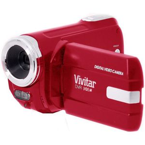 VIVITAR DVR908MFD-RED Camescope numérique Full HD 1080 P - 10 Mpx - Rouge